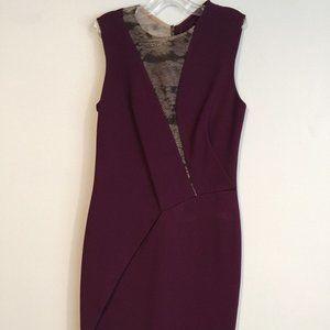 J. MENDEL** Burgundy Cocktail Dress $2895*US 2
